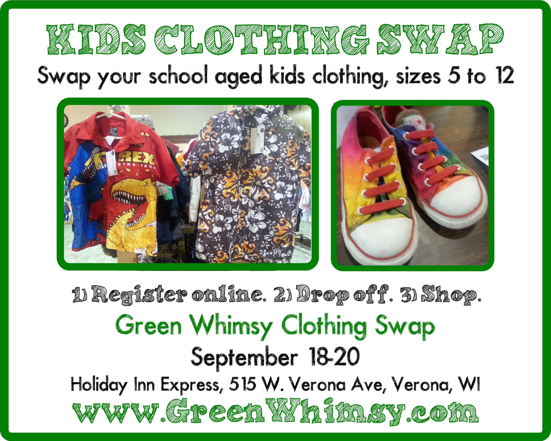 Kids Clothing Swap! September 1820 Craft supplies