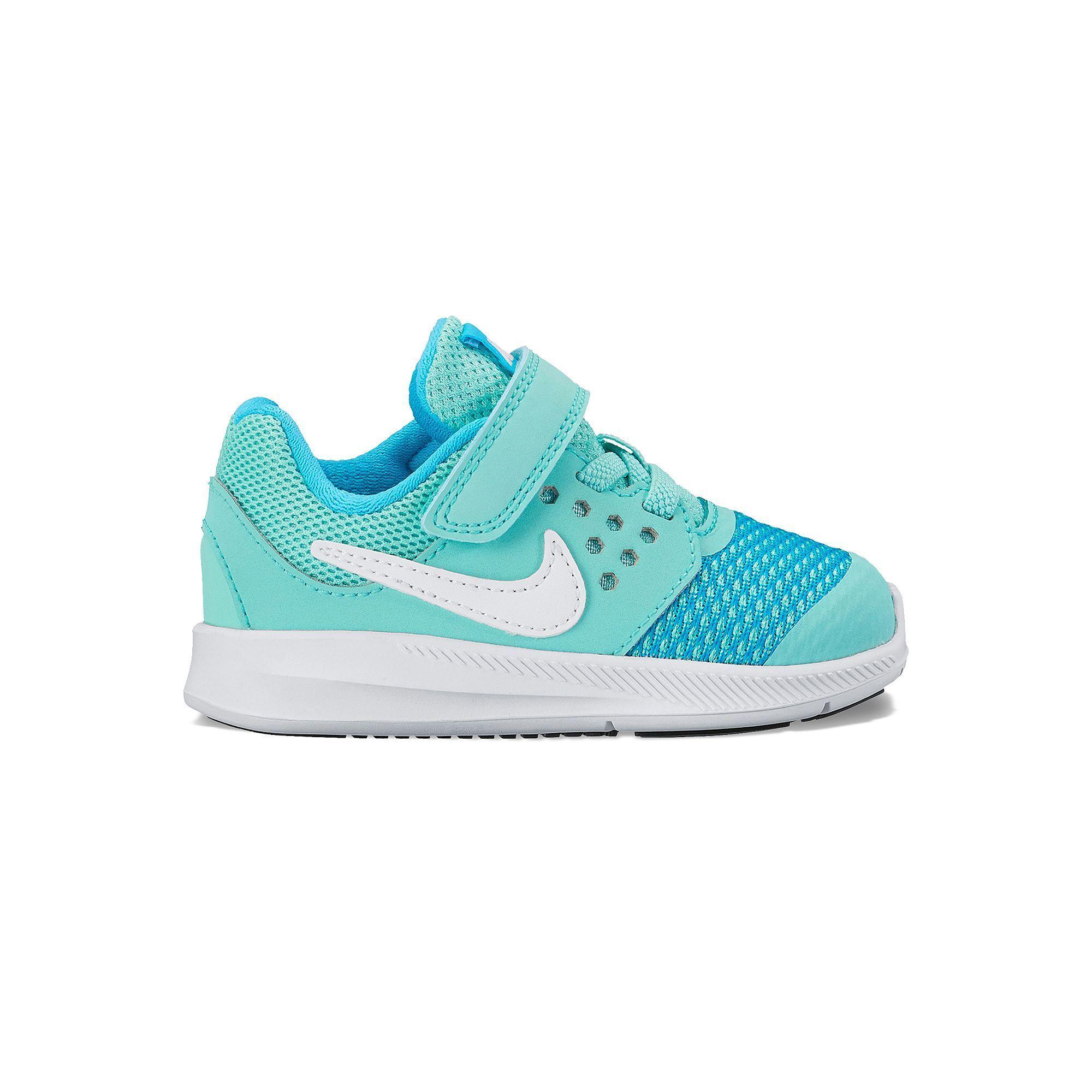 c10b27fa39 Nike Downshifter 7 Toddler Girls' Shoes, Girl's, Size: 10 T, Dark Green