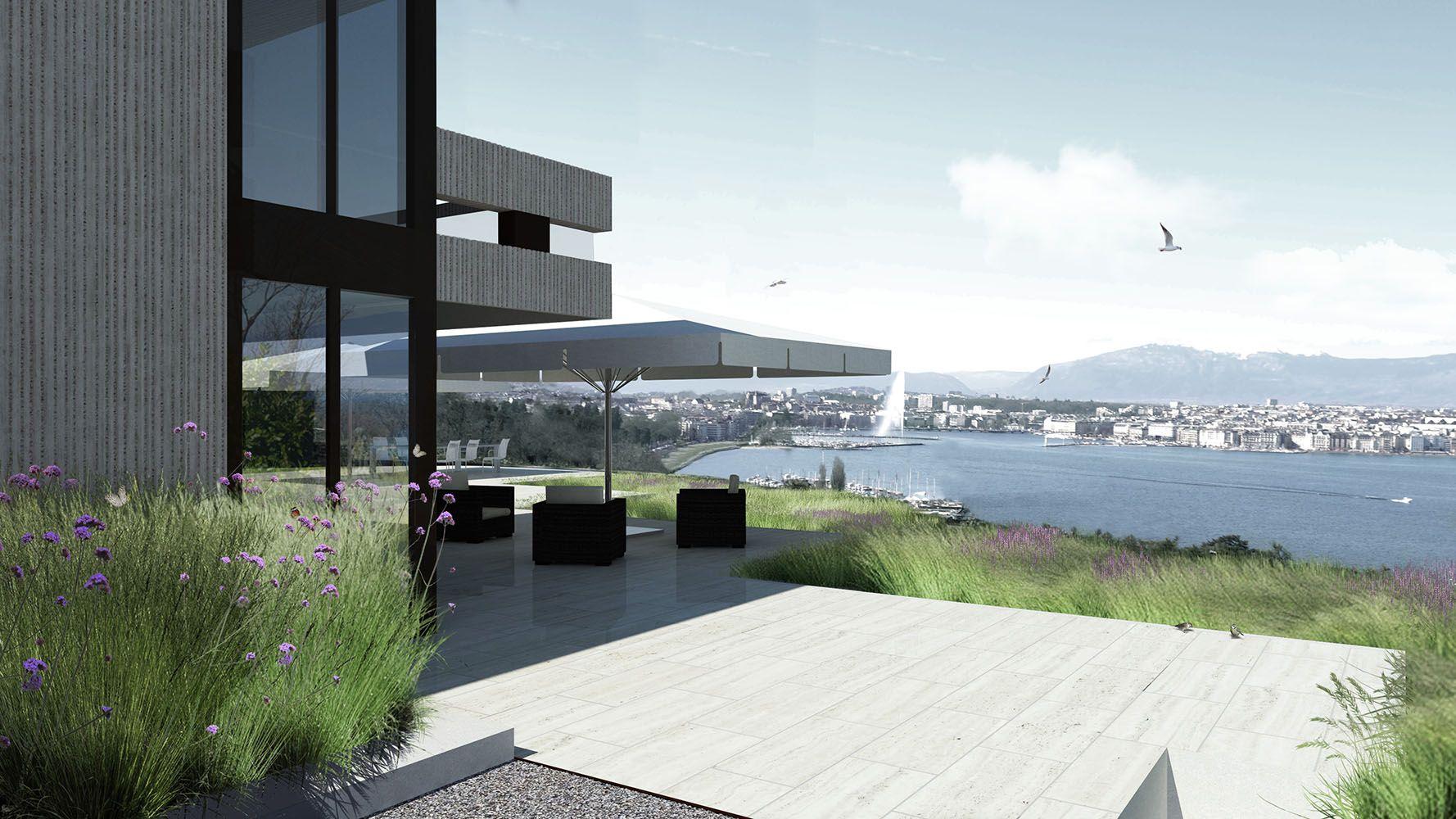 Projet de jardin privé par le bureau vimade architectes