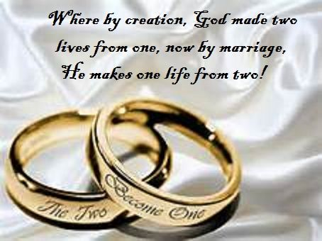 Marriage ordained by god between a man a woman great wedding how write sister marriage leave letter wedding rings sample riledesigns artfire spiritdancerdesigns Image collections