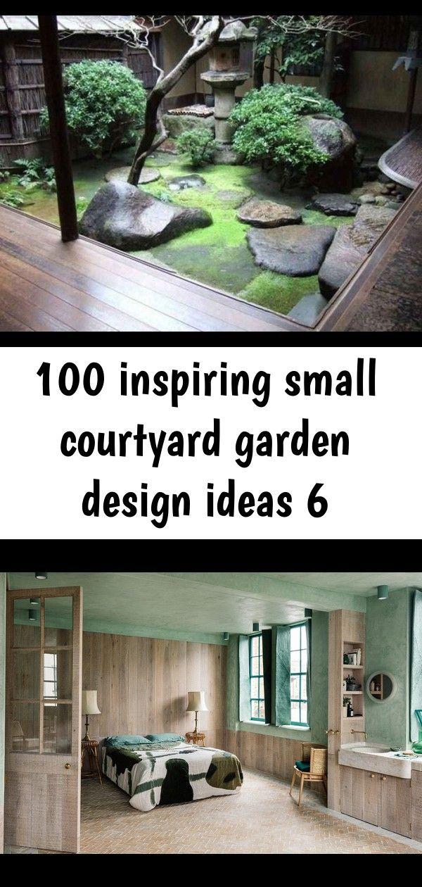 100 inspiring small courtyard garden design ideas 6 #smallcourtyardgardens