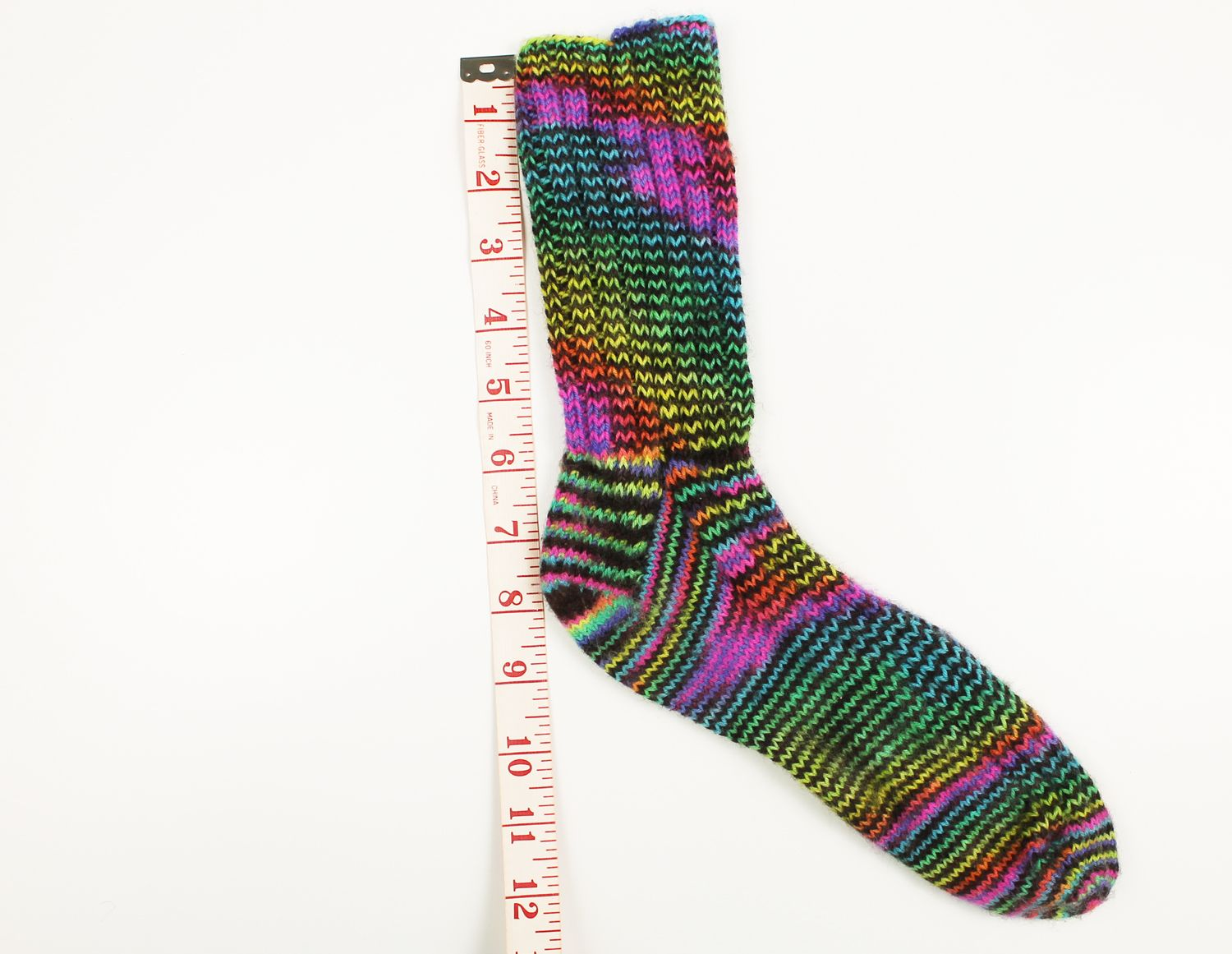 How to Measure Your Foot for Knitting Socks