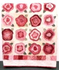 FRENCH ROSE QUILT PATTERN   Free Patterns   quilts/crafts i love ... : french roses quilt pattern free - Adamdwight.com