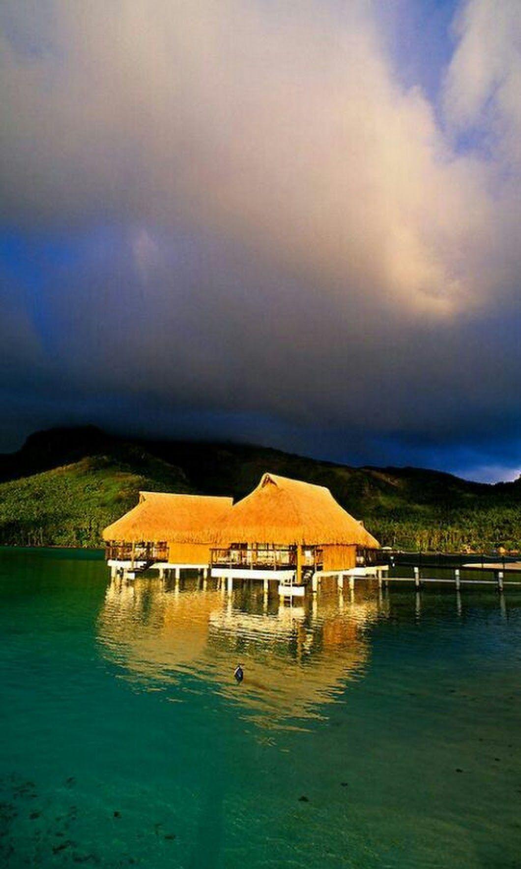 Wonderful resort French Polynesia Dhruba Das