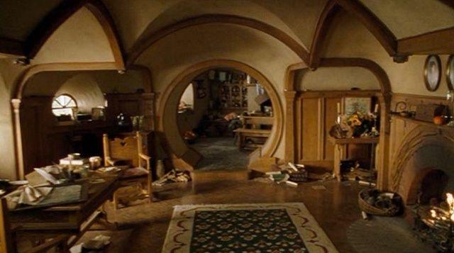 The Hobbit Bag End House Interior Bags End Hobbit