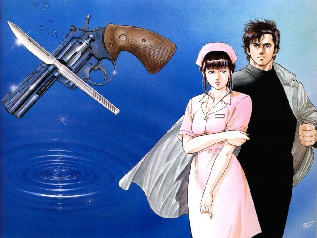 City Hunter Free Anime Wallpaper Site City Hunter
