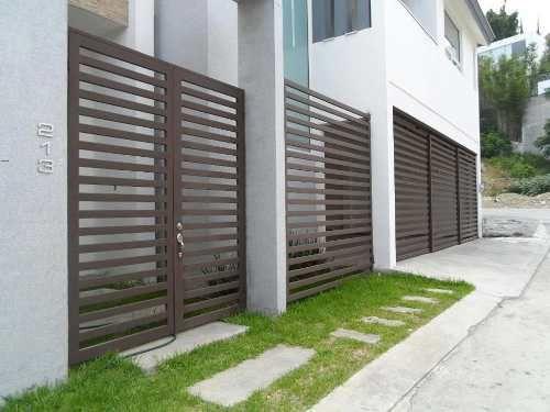 Rejas modernas buscar con google fachadas pinterest - Rejas de casas modernas ...