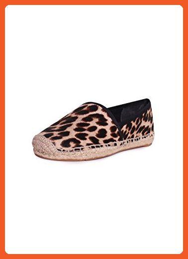 9e59b6713cf0 Tory Burch Elisa Flat Espadrilles Flats in Natural Leopard Black Size 9 -  Flats for women ( Amazon Partner-Link)