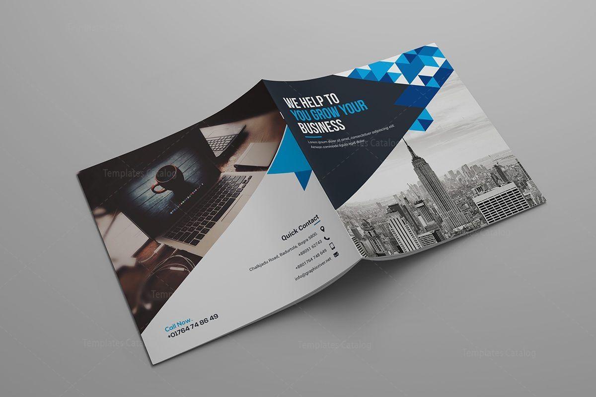 Hera Corporate Bi-Fold Brochure Template 000799 | Graphic Template ...