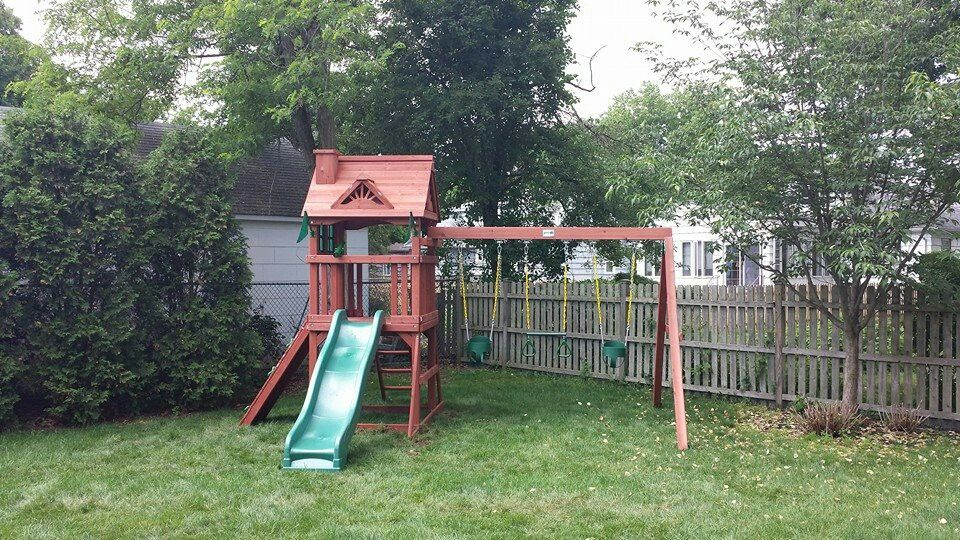 Miraculous Gorilla Nantucket Playset From Costco Installed In Home Remodeling Inspirations Genioncuboardxyz