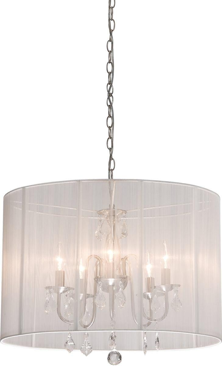 Claremont's 8 lite #chandelier by Art Craft.