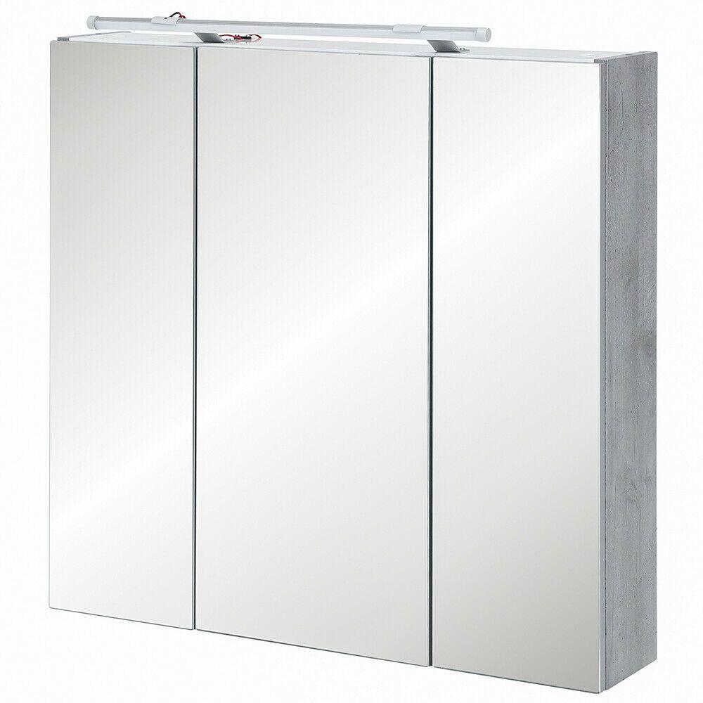 Schildmeyer Spiegelschrank Badspiegel Badezimmerspiegel Steingrau 70 X 75 X 16cm In 2020 Badspiegel Badezimmerspiegel Spiegelschrank