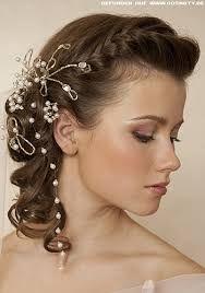 Peinados novia pelo corto