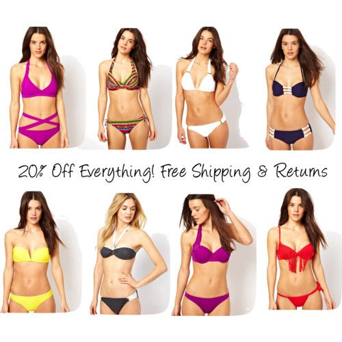 It's been cold but swimsuit season is right around the corner! Get your shopping on this Memorial Day for 20% everything! Free Shipping & Returns