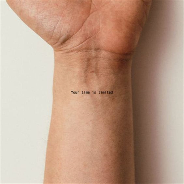 50 Meaningful And Inspirational Quotes Tattoo Ideas For You Page 5 Of 50 Cute Hostess For Modern Women In 2020 Cute Ankle Tattoos Dainty Tattoos Tattoo Quotes