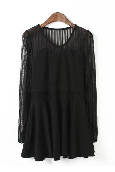 Lace Block Dress