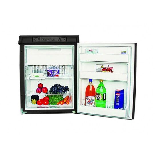 Dometic Rm2350 90 Ltr 3 Way Refrigerator Manual Control Model Absorption Refrigerator For 12 Volts 240 Volts And Ga Fridge Sizes Camping Sale Camping Fridge