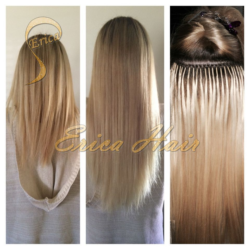 Dream Catchers Extensions Entrancing Nano Bead Extensions Before And After  Sticki Tip Hair Extensions Design Inspiration
