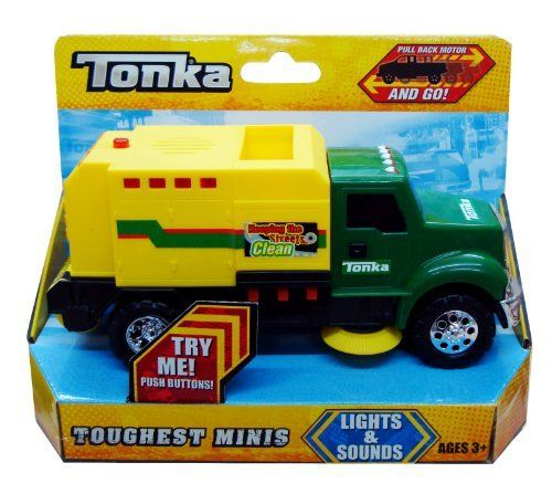 Tonka Mini Lights N Sound Street Sweeper By Tonka 25 99
