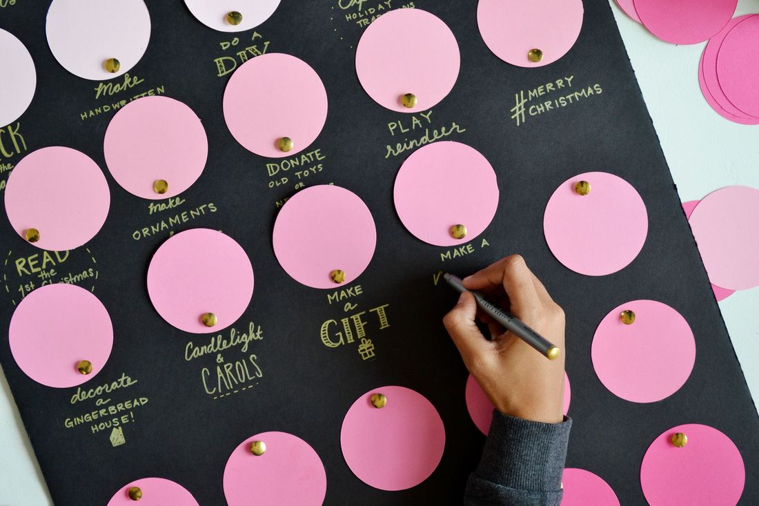 Craft Board Advent Calendar Holiday crafts diy, Diy