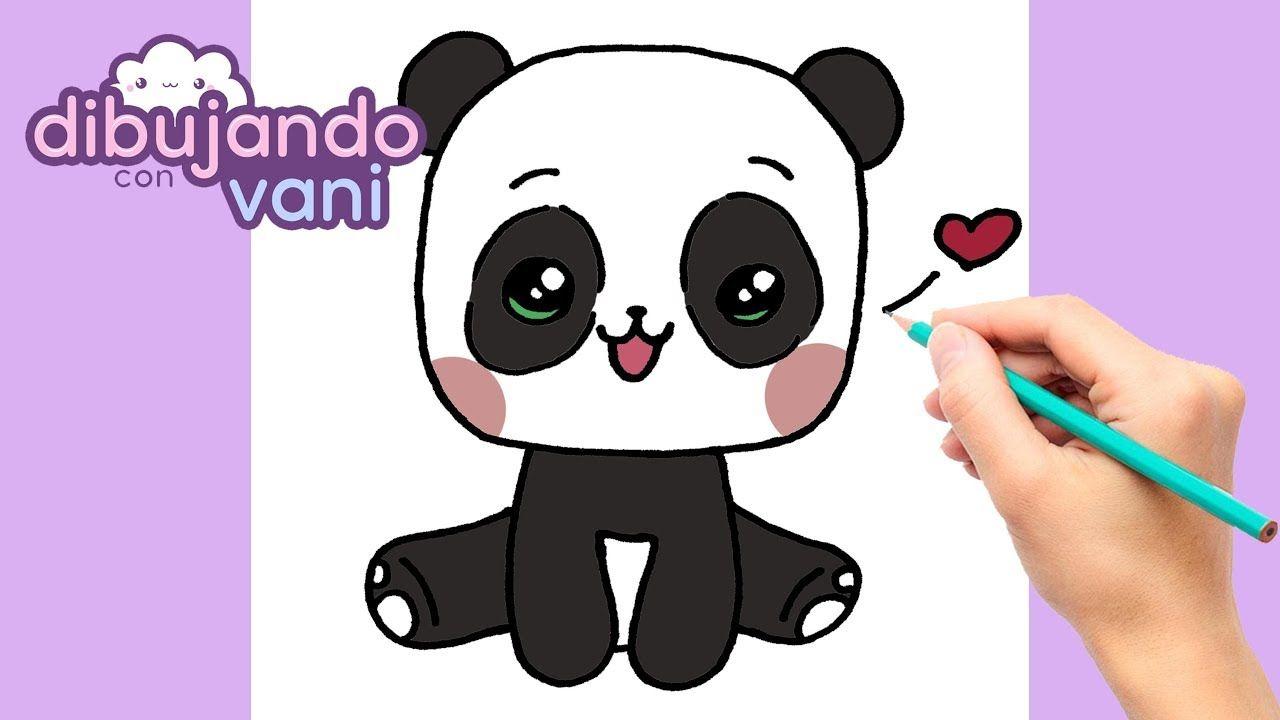 Como Dibujar Una Panda Paso A Paso Dibujos Para Dibujar Como Dibujar Dibujos Kawaii Panda Kawaii Kawaii