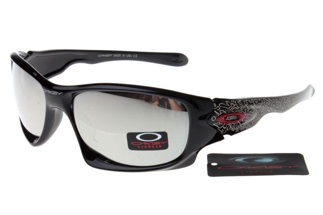 96dcc86cc32 Oakley Crankcase Sunglasses Black Frame Silver Lens 0156 ...