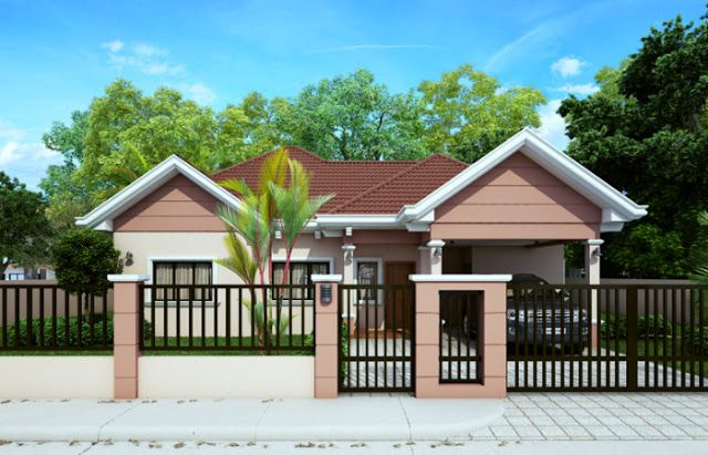 Free lay out and estimate philippine bungalow house also design rh pinterest