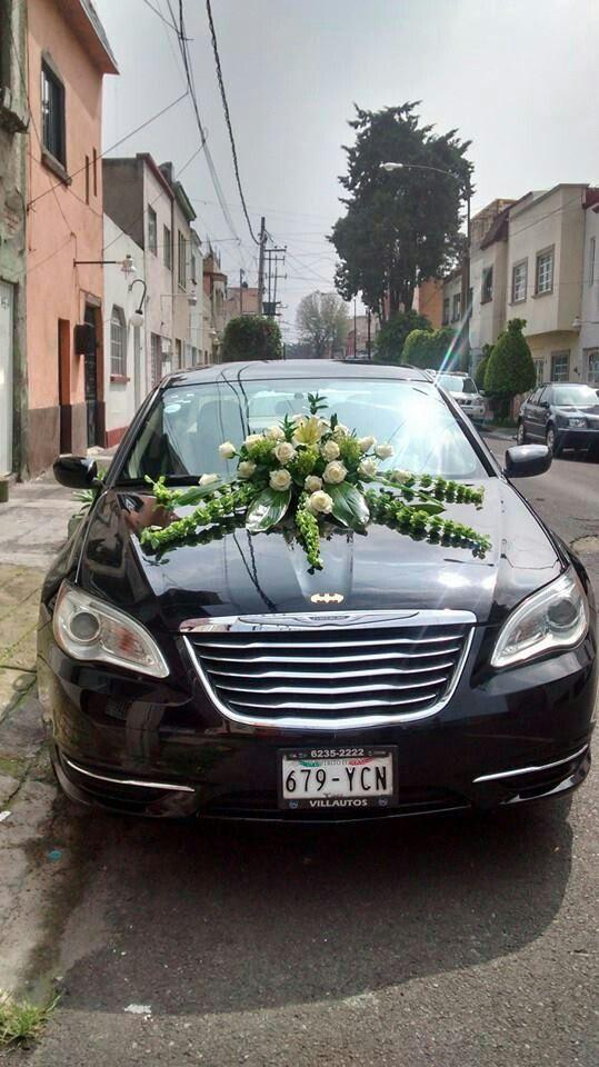 Arreglos Florales Para Carro De Boda Mexico Df Www