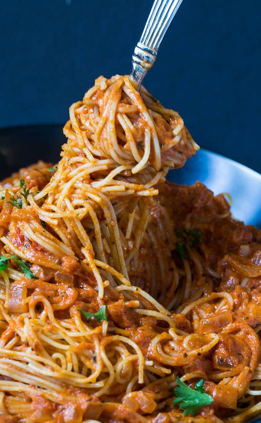 With This Simple Spicy Tomato Cream Pasta Sauce You Can Have A Delicious Meal On The Table In Just A Matter Of Minutes