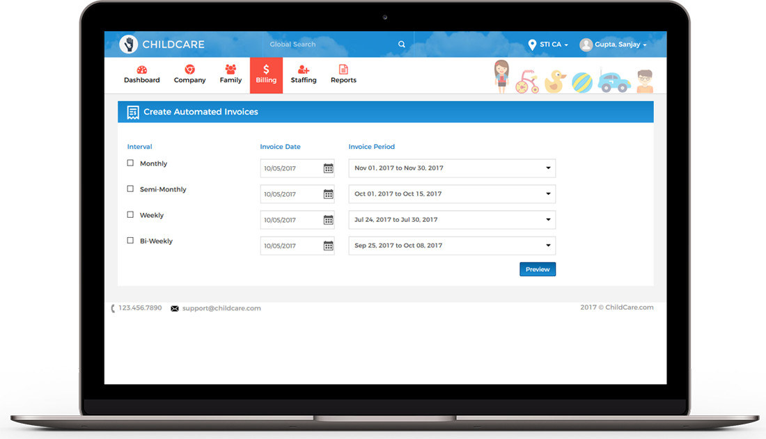 Home daycare by Sara Technologies Inc. on Daycare Software