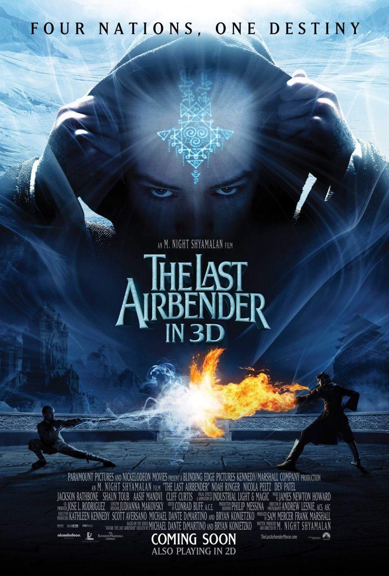 The Last Airbender | Volledige films, Filmposters, Film
