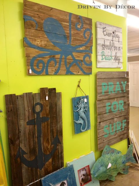 painted wooden board wall hanging | signs | Pinterest | Board, Walls ...