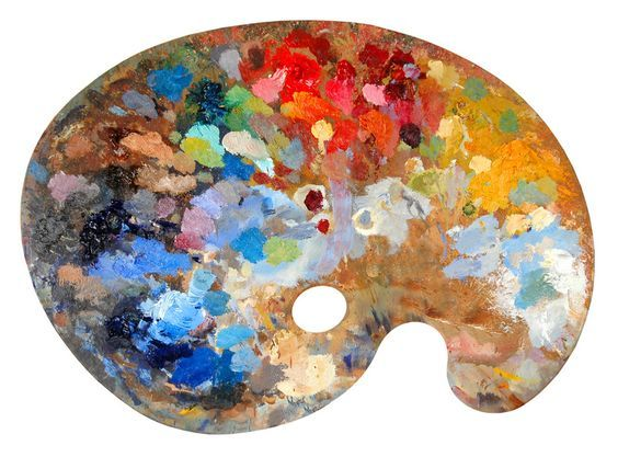 Used Painters Palette Google Search Artist Palette Painters Palette Oil Painting