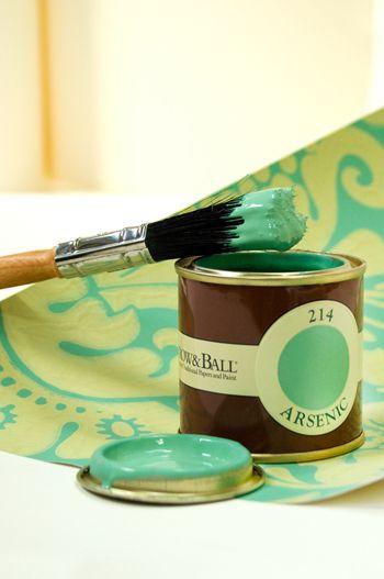 Best Arsenic Green Farrow Ball Paint Little Green Notebook 400 x 300