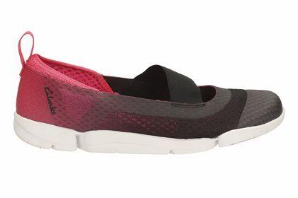 Clarks Tri Skipp - Berenjena - Zapatillas de deporte para mujer | Clarks