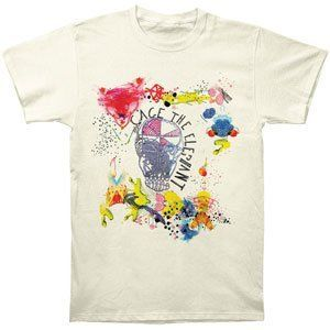 Vintage Melophobia Funny The Elephant Graphic Art Style T-Shirt