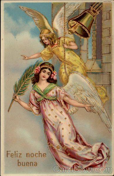 Feliz noche buena Angels