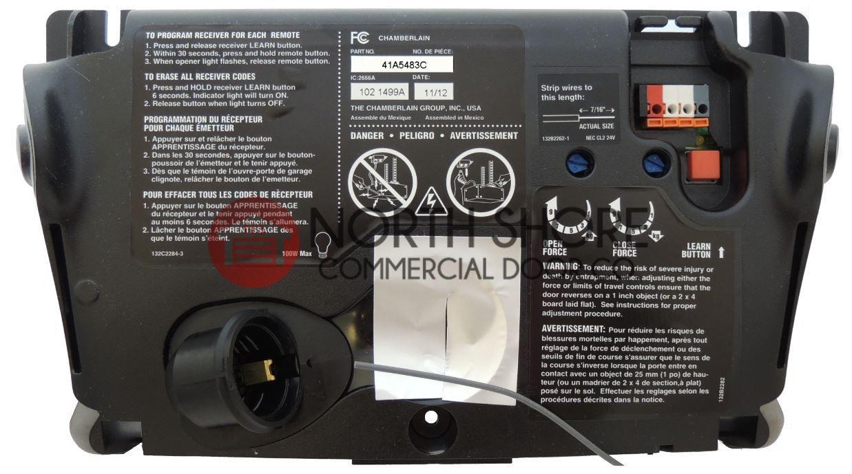 Chamberlain Garage Door Opener Model Lw5000ev Regarding Dream