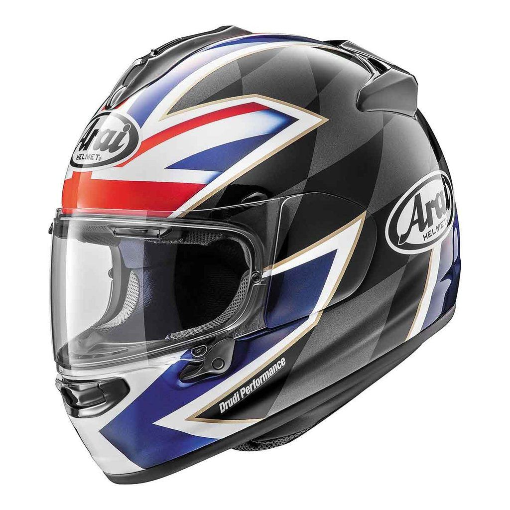 Shop Arai Dt X Uk Flag Motorcycle Helmet By Size Color More From Motorcycler Com Free Shipping On Orders Over 49 99 Helmet Arai Helmets X League