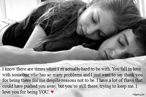I Know There Are Times When I M Actually Hard To Be With You Fall