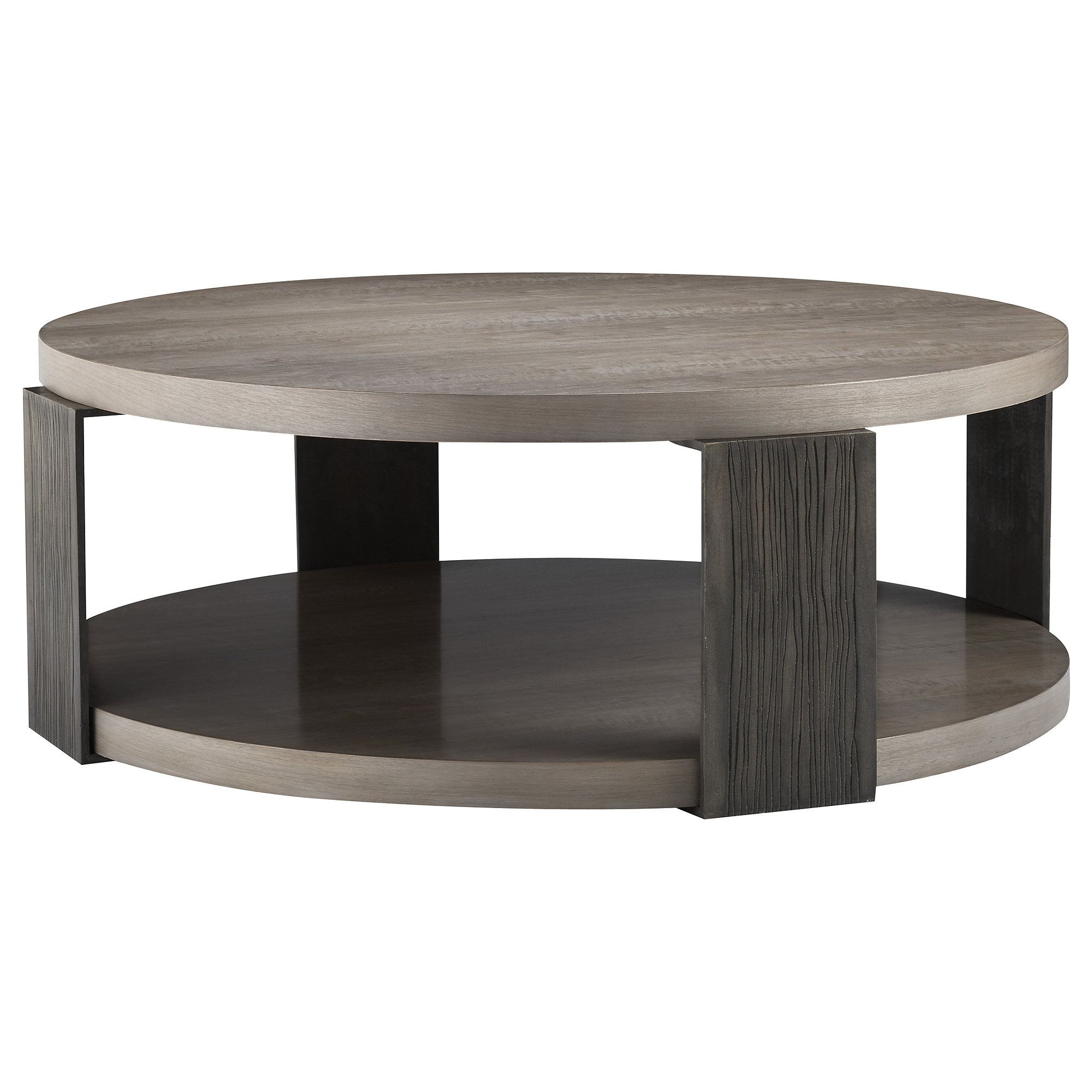 Angulo round cocktail table the laura kirar collection baker