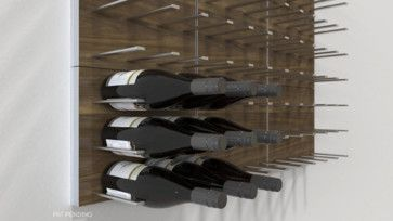 Stact Modular Wall Mounted Wine Rack System Commercial Grade