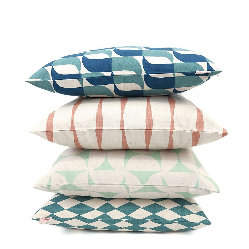 Love this pastel and blue combination featuring the new BRISE SOLEIL collection along with new colourways of firm favourites by Skinny laMinx. See the full cushion collection in the Skinny laMinx online store.