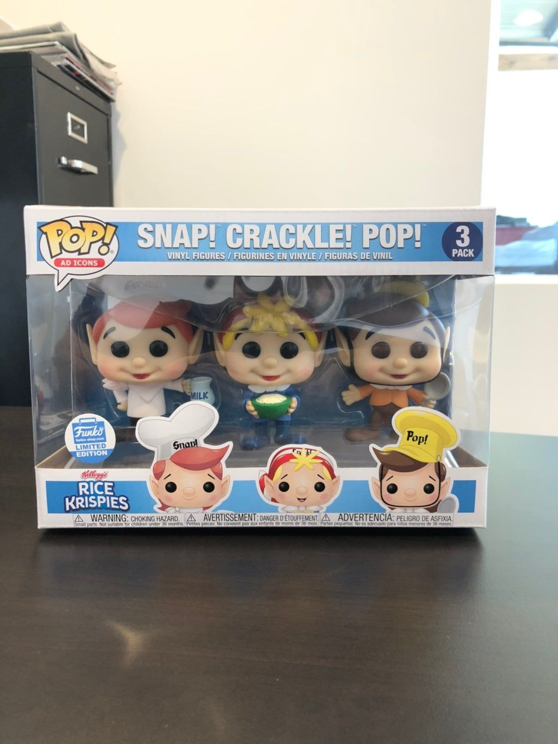 Funko Pop Shop Exclusive Ad Icons Snap Crackle Pop. See