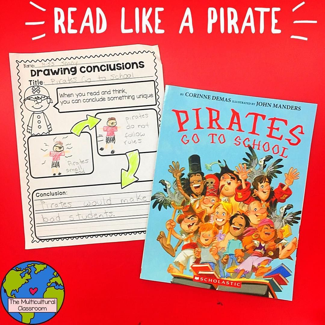 We Are Reading Like A Pirate The Students Had To Draw