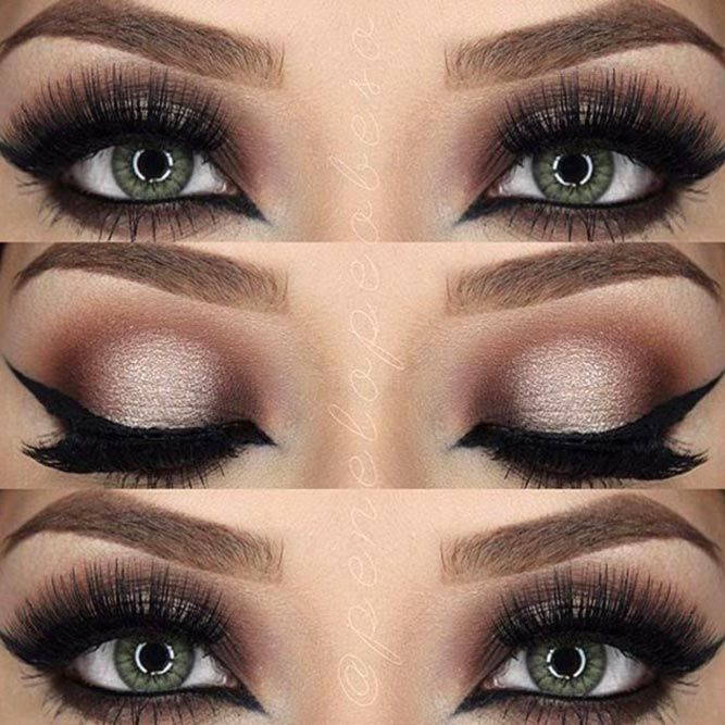 42 Most Attractive Makeup Ideas For Dark Green Eyes Wedding