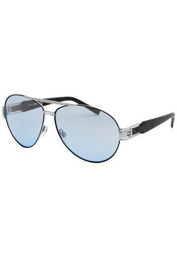 5c97116a18 Just Cavalli Women s Aviator Black Sunglasses