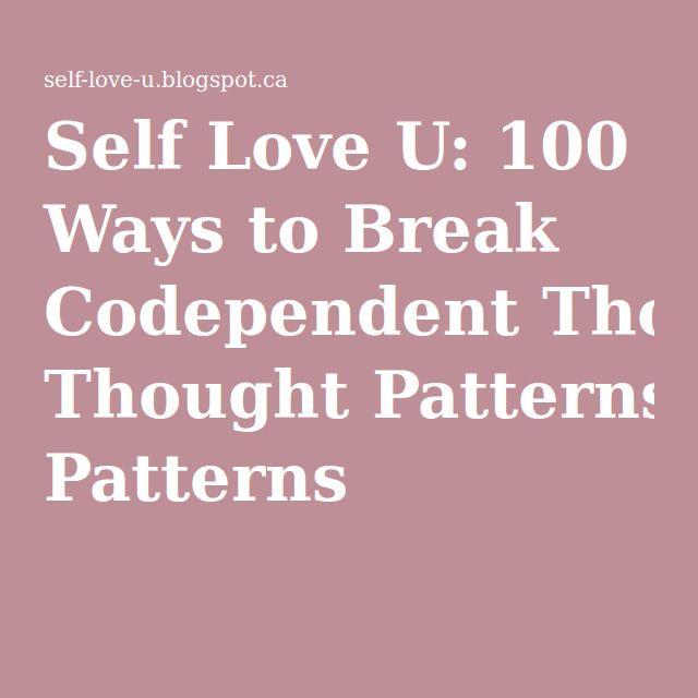 Breaking codependent relationships