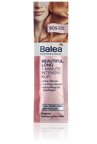 Balea Professional Beautiful Long 1 Minute Intensivkur Balea Dm