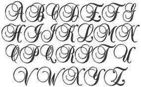 Image Result For Elegant Script Fonts Alphabet